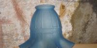 Blauer Tulpenschirm