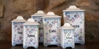 Küchendosen Keramik 30er